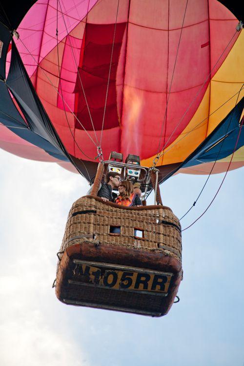 Hot air balloon ride, Napa Valley