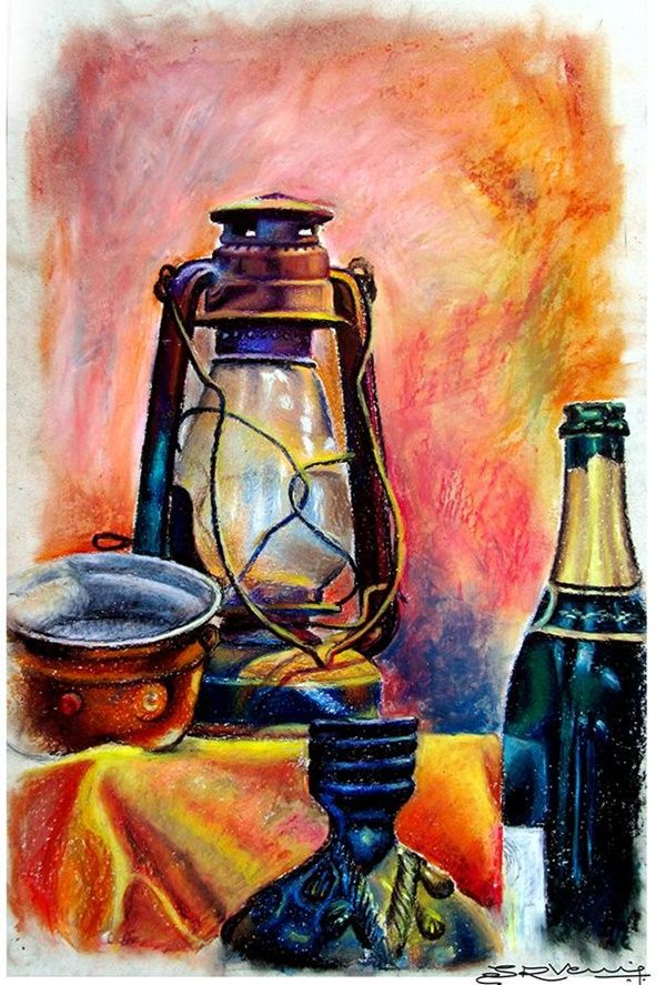 40 Easy Still Life Painting Ideas For Beginners Oil Pastel
