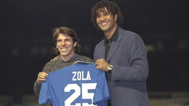 Zola stars in latest Blue Days podcast | News | Official Site | Chelsea Football Club