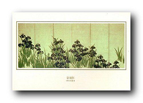 Ogata Korin Irises Flower Wall Decor Fine Wall Decor Art…