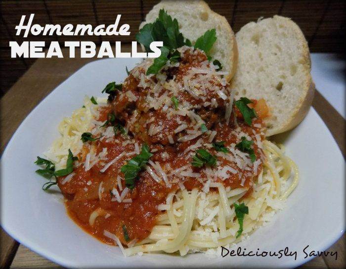 Check Out My Delicious Homemade Meatball Recipe Made With Pete and Gerry's Organic Eggs! Deliciously Savvy Blog ---> https://deliciouslysavvy.com/recipe/delicious-homemade-meatball-recipe-made-pete-gerrys-organic-eggs-peteandgerrys/