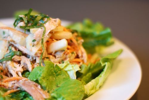 Asian Almond Chicken Salad | Nom Nom Paleo: Almond Chicken, Almonds Chicken, Asian Almonds, Food Porn, Chicken Salads, Food Paleo Asian, Paleo Recipes, Asian Chicken Salad, Chicken Salad Recipes