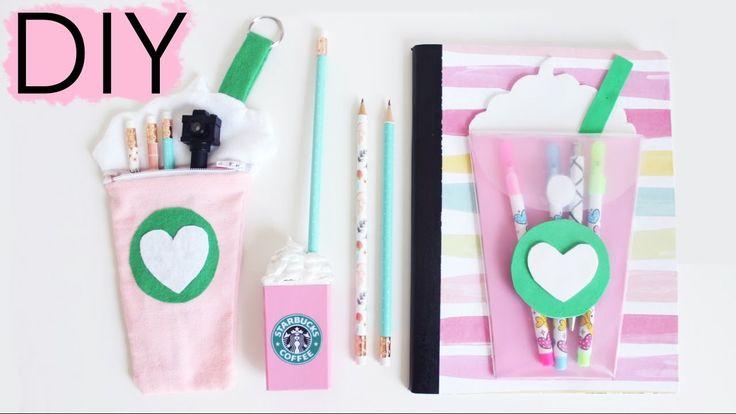 DIY Starbucks School Supplies | Back To School