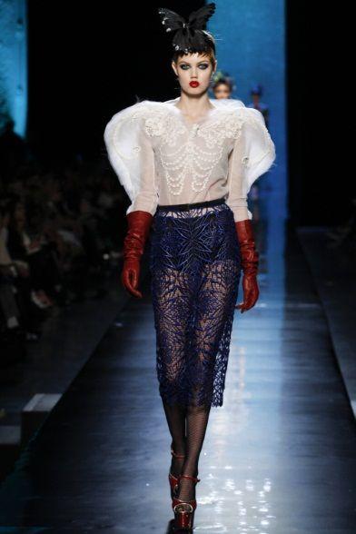 Jean Paul Gaultier - Haute Couture Spring Summer 2014 - Shows - Vogue.it