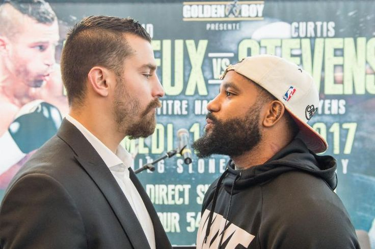 DAVID LEMIEUX VS. CURTIS STEVENS MONTREAL PRESS CONFERENCE QUOTES LEMIEUX VS. STEVENS IS SATURDAY, MARCH 11 FROM TURNING STONE RESORT CASINO IN VERONA, NEW YORK TELEVISED LIVE ON HBO BOXING AFTER D…