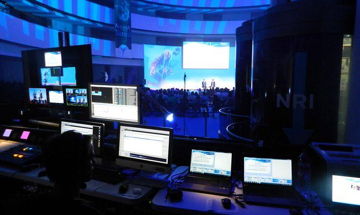 Alquiler de Equipos de Vídeo y Control Gestión de sistemas multi-pantalla para eventos