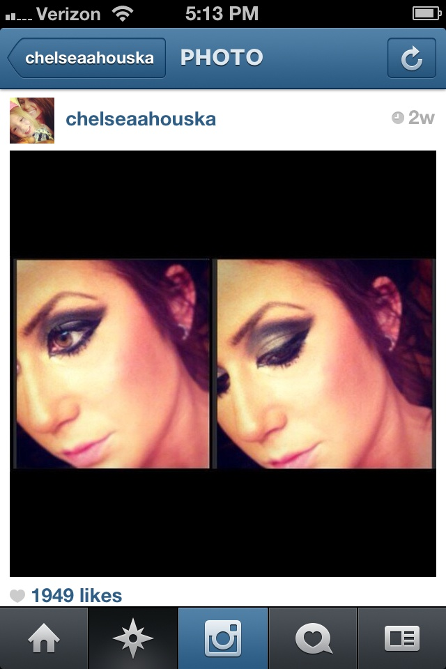 I loooove Chelsea Houska's Makeup and style :) I have a somewhat similar date night look tutorial as this one :) go to www.youtube.com/foreverraquellove