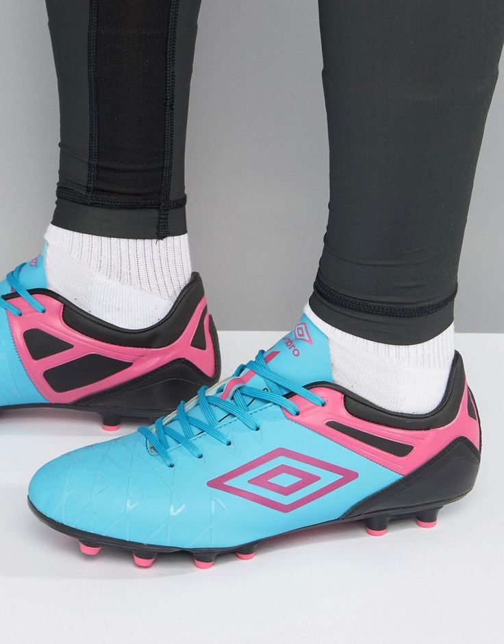 Get this Umbro's football shoes now! Click for more details. Worldwide shipping. Umbro UX-1 Premier HG Football Boots - Blue: Trainers by Umbro, Faux-leather upper, Fixed EVA insole for comfort, Ideal for playing on hard ground surfaces, Can be worn on artificial grass or 3D pitches, Lace-up fastening, Spaced forefront studs designed to minimise pressure, Conical heel studs for better traction when changing direction, Wipe with a damp sponge, 100% Polyurethane Upper. The creation of brothers…