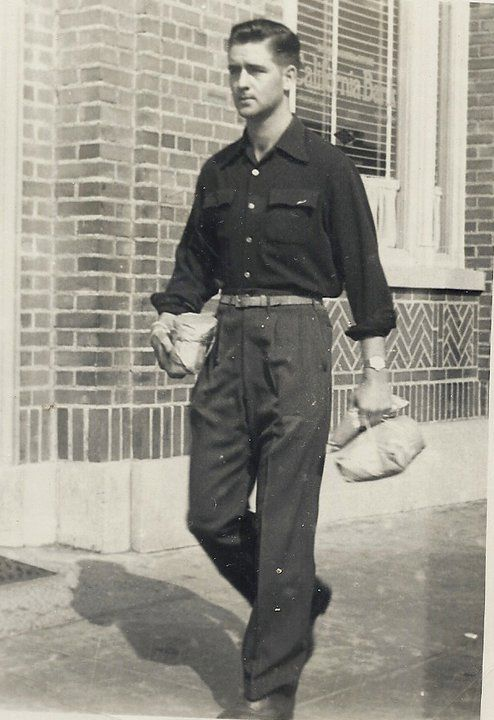 James F. Baxter (Dad) on leave while a Marine in Santa ...