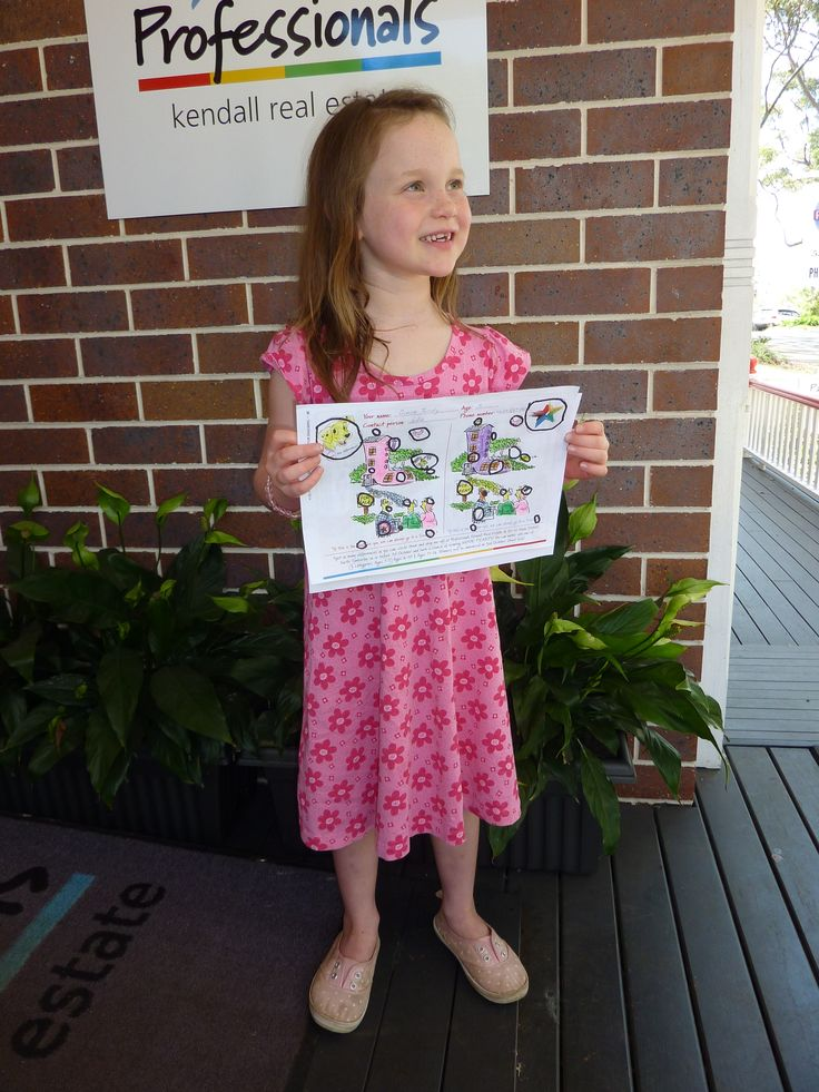 Spot the Difference Competition Winner, 2014. Congratulations to Grace 1 - 5 years