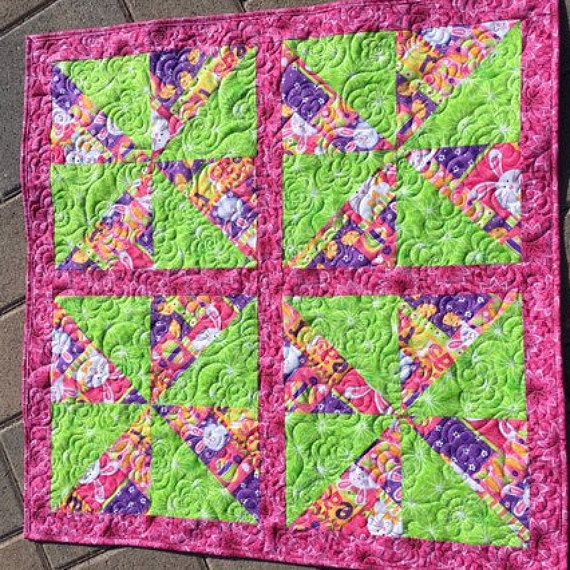 7 best easter images on pinterest hostess gifts etsy quilts and easter quilted table topper quilted easter by lightsidecreations negle Gallery