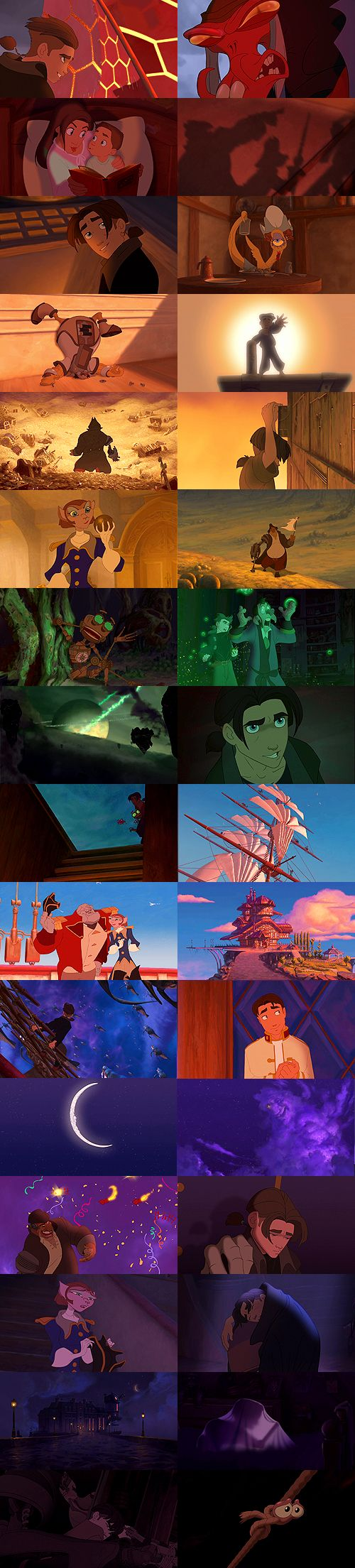Treasure Planet. Phenomenal animation, great characters, and a moving story make this imaginative and visually stunning retelling of Robert Louis Stevenson's classic novel a true Disney gem!