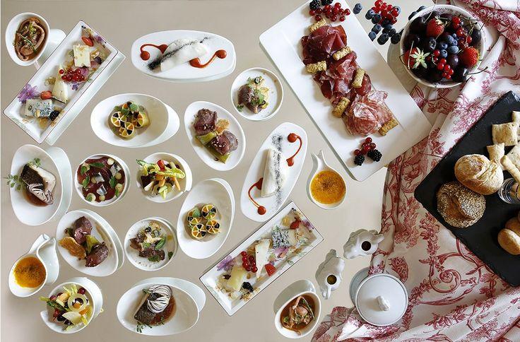 Il format Brunch Privée al  ristorante Rubacuori by Venissa presso lo Château Monfort di Milano. è un servizio su misura dove il buffet è assolutamente personale.