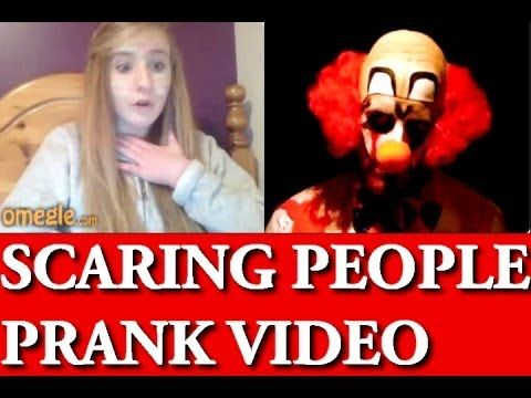 In this funny omegle video, Scary clown goes on omegle to scare some unsuspecting people. Watch their crazy funny reactions when they meet with the Clown. This funny scary prank is really worth watching.