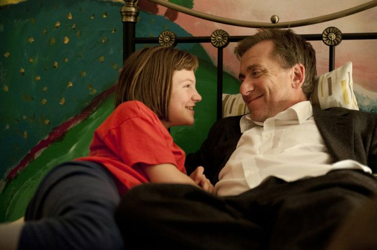 Still of Tim Roth and Eloise Laurence in Broken (2012)