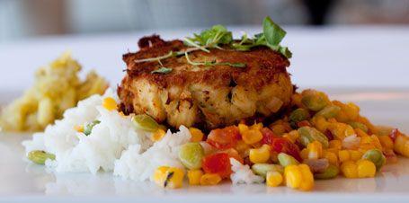 Jumbo Lump Crabcake / Carolina Plantation Rice / Succotash / Chow-Chow
