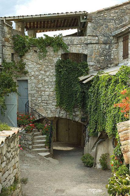 Balazuc, Ardeche,Southern France.. Stephane Vervalle
