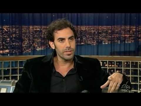 Sacha Baron Cohen vs Conan O' Brien 2005 pt. 1