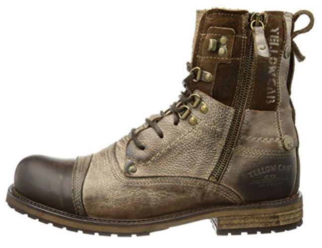 Botas militares cuero #Botas  #Calzado #ModaAmazon #ModaHombre #Outfit #Men #Hombre