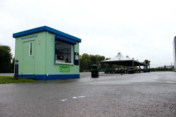 We recently supplied a Food Cube to Cucina, for a school in London. It's currently taking over £100 per day in revenue!!!