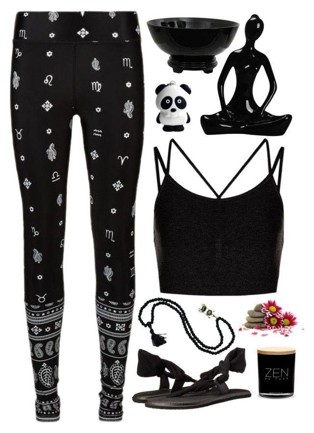 Health Goth Yoga Outfit. | Sweaty - 70.4KB