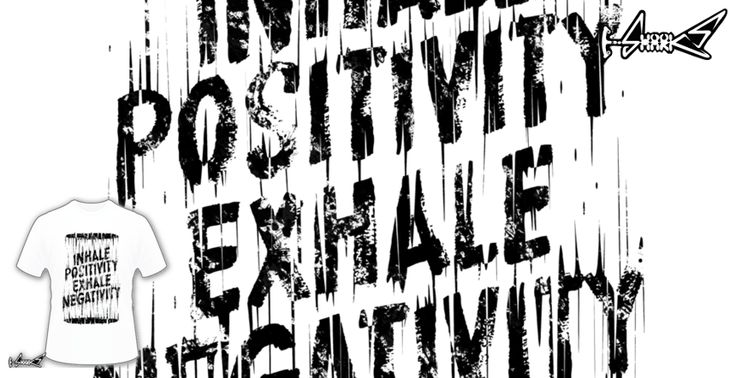Inhale Exhale T-shirts - Designed by: Lou Patrick Mackay