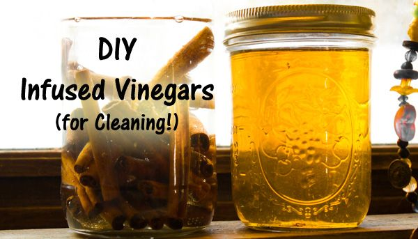 DIY Home + Garden: Make Infused Vinegar for Cleaning - Crafting a Green World