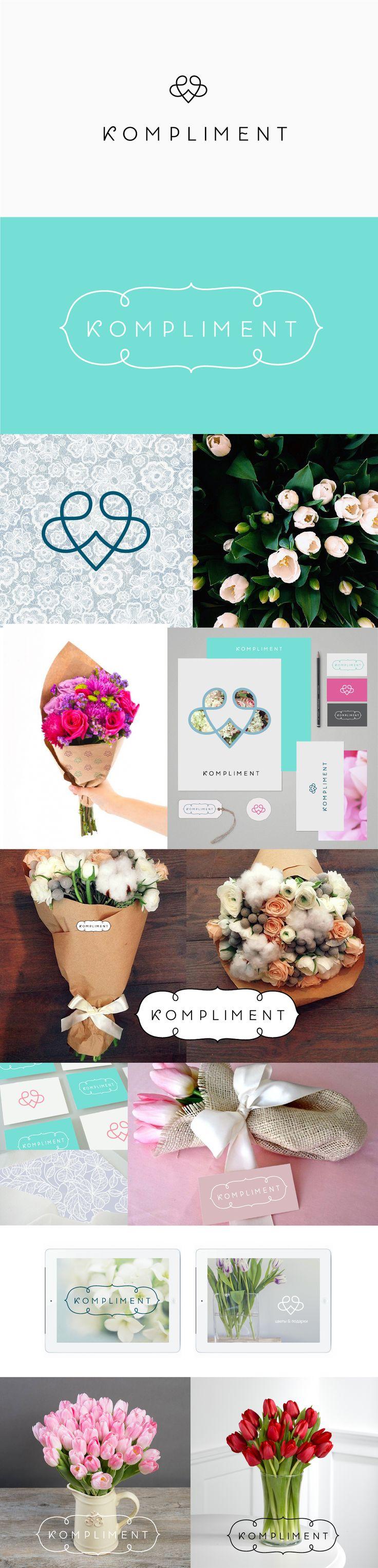 Concept of identity for flower shop #logo #brand #identity #branding #flower…