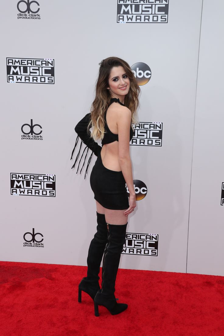 Laura Marano showing off her cock hunting outfit.