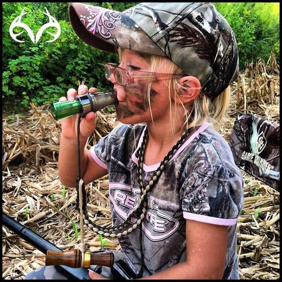 Little girl hunter