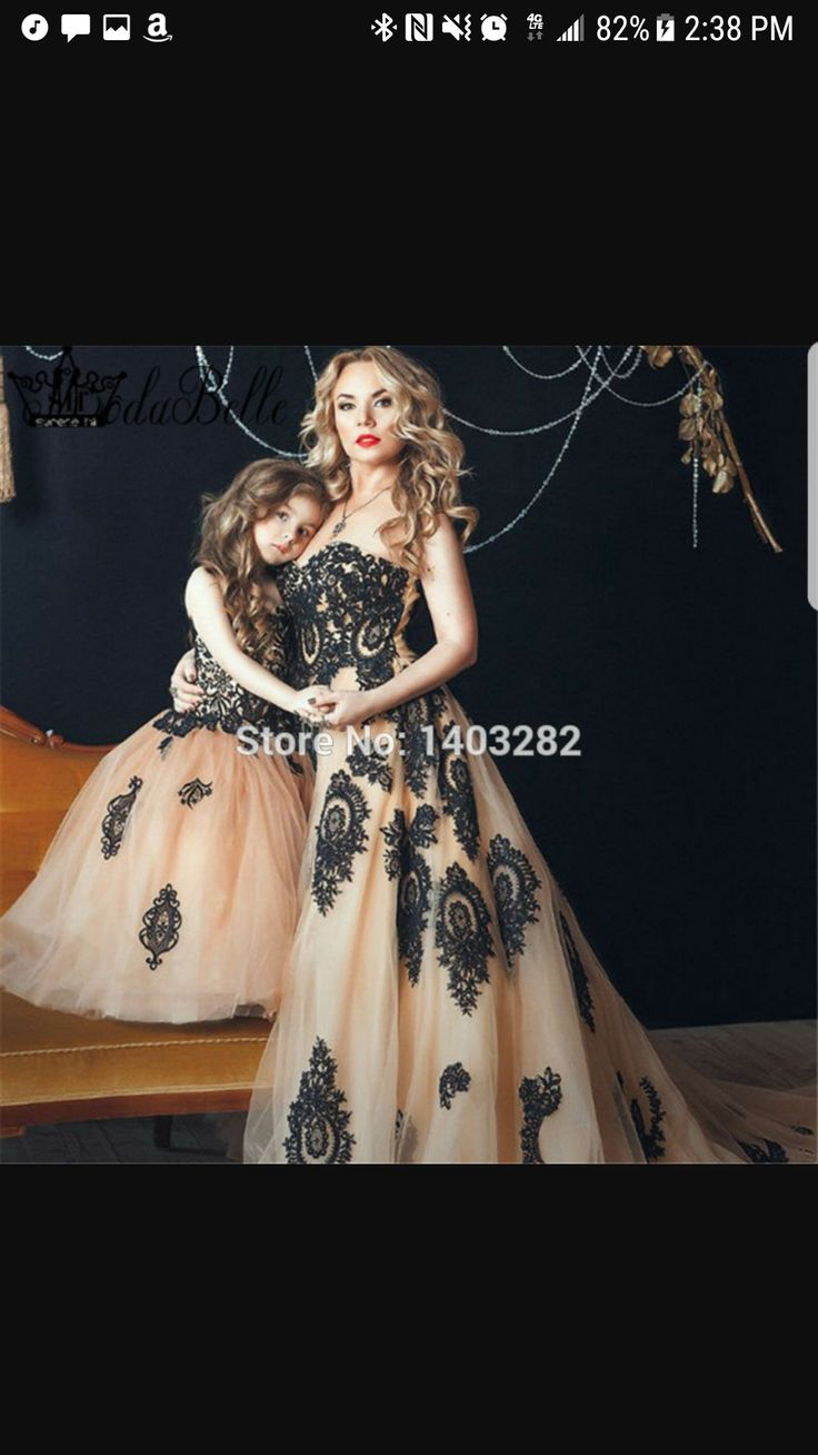 7 Best Mother And Daughter Formal Dresses Images On Pinterest