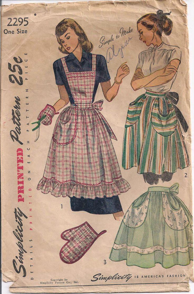 1476 besten vintage & retro bib aprons Bilder auf Pinterest ...