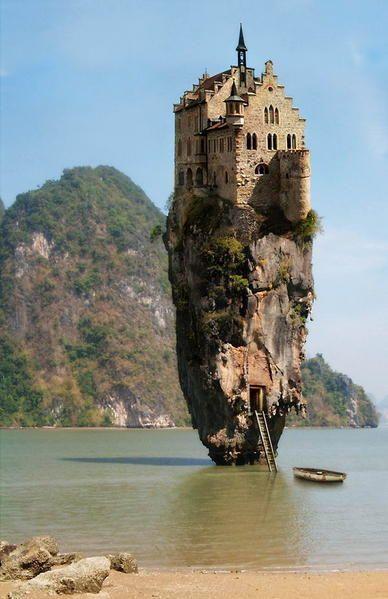 Cliff Castle Ruins Ireland | Ecrire un commentaire J'aime 10
