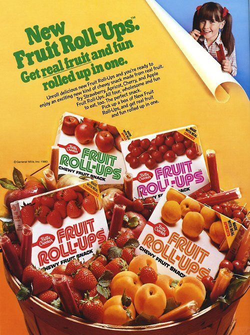 In 1980, Fruit Roll-Ups took lunchboxes and snack time by storm. What was your favorite flavor?