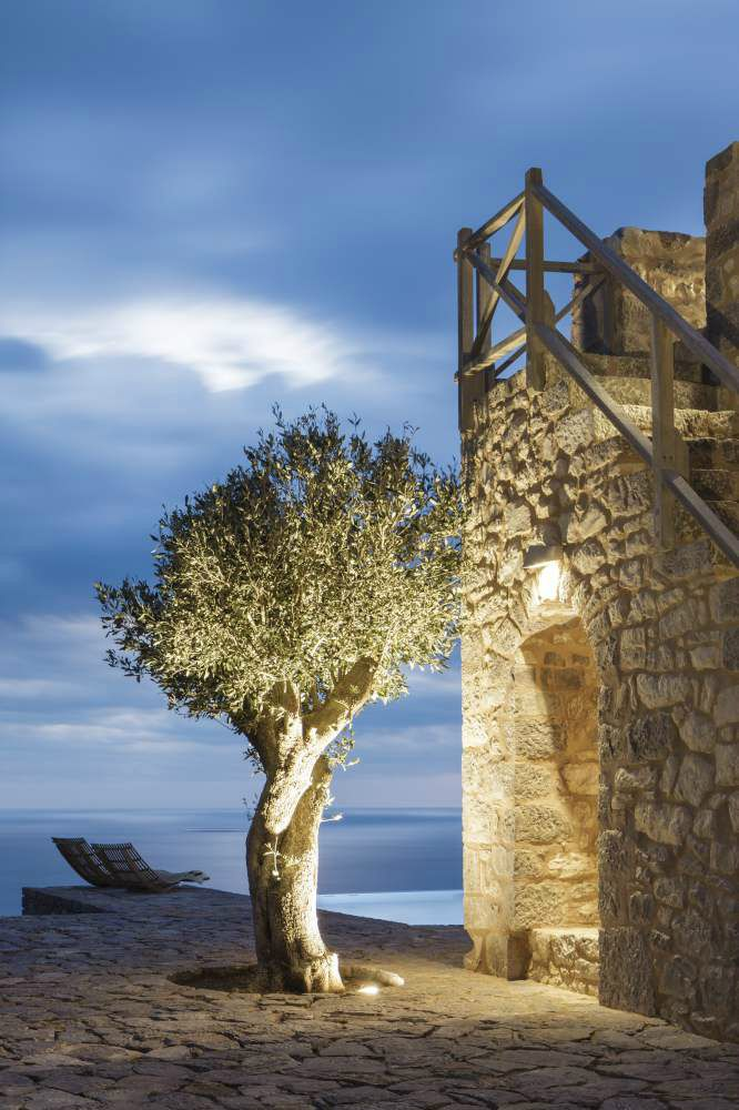 The Tower In The Wild Beauty of Mani Greece 35