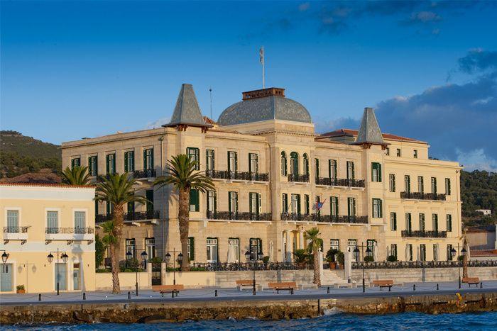 Les plus beaux hôtels en Grèce : Le Poseidonion Grand Hotel à Spetses