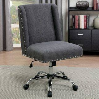 Shop for Furniture of America Clera Contemporary Wingback Linen-like Fabric Office Chair. Get free shipping at Overstock.com - Your Online Furniture Outlet Store! Get 5% in rewards with Club O! - 21101585