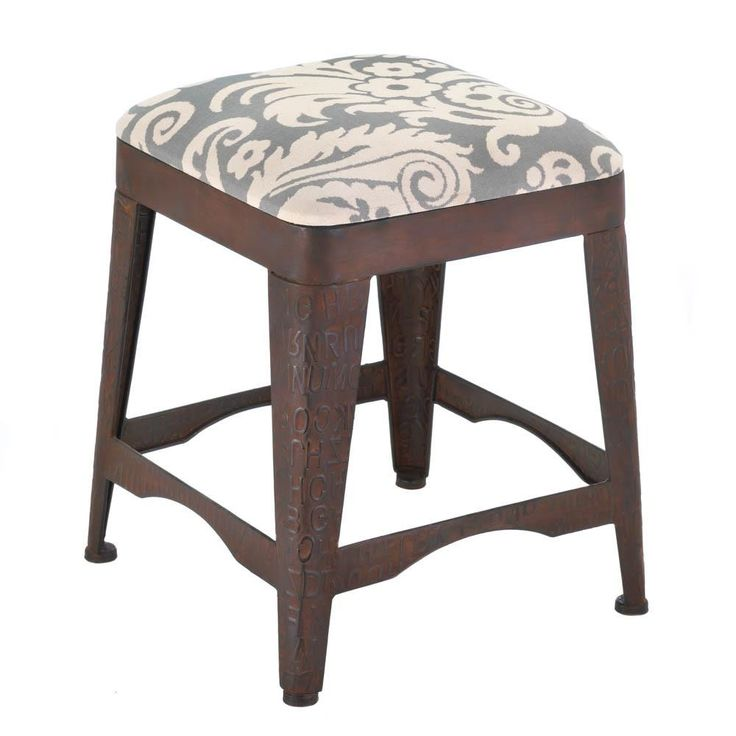 This stool is great. My wife has been looking for some short stools like this, and the grey and white fabric would go perfect in our bathroom. I will have to show this to her and see if she is into it.