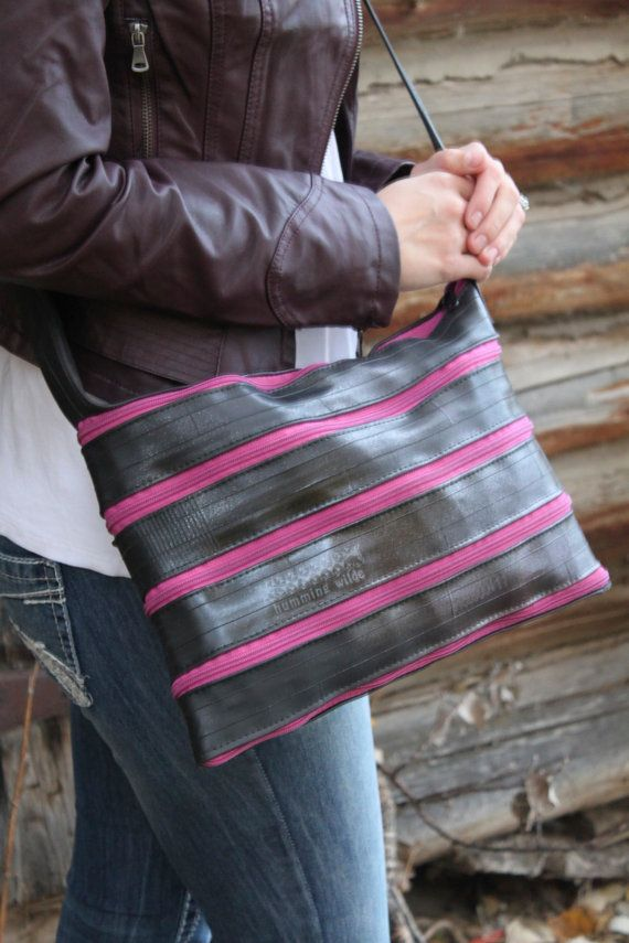 Continuous Bicycle Inner Tube Zippered Bags door HummingWilde, $50.00