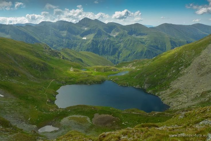 through geographer's eyes: The Fagaras Mountains, Romania