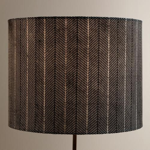 One Of My Favorite Discoveries At WorldMarket.com: Blue Arrow Drum Table  Lamp Shade