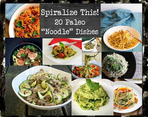 I've got to get a spiralizer. These recipes look amazing. Spiralize This (paleo pasta recipes)