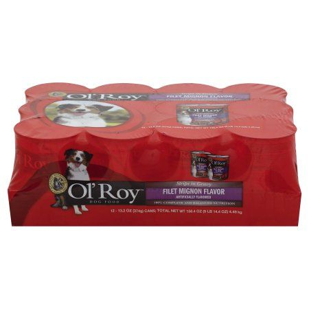 Ol' Roy Strips in Gravy Filet Mignon Flavor Wet Dog Food, 12-pack