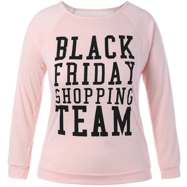 Plus Size Black Friday Christmas T Shirt ($13) ❤ liked on Polyvore featuring tops, t-shirts, plus size womens tees, plus size tees, plus size christmas t shirts, plus size women's t shirts and womens plus tops