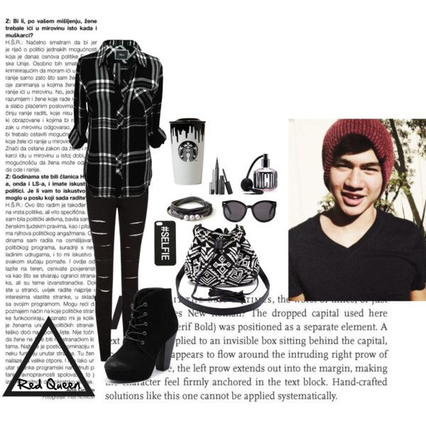 Calum by elleonora-scarlat on Polyvore featuring Rails, Therapy, Charlotte Russe, Monki, Victoria's Secret and Band of Outsiders