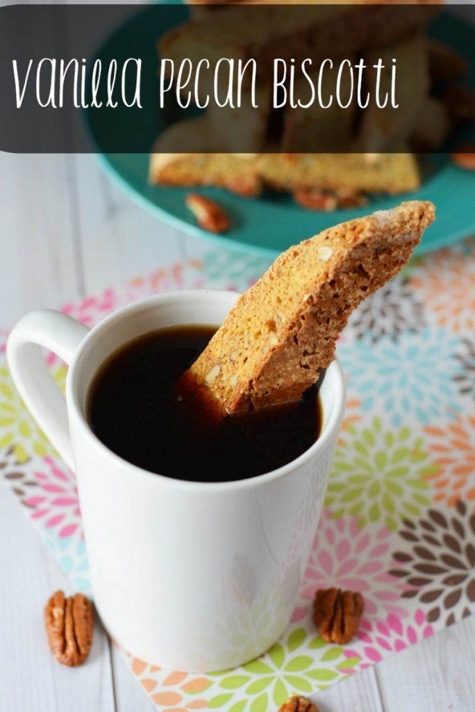 Make your own Vanilla Pecan Biscotti from scratch with this recipe ...