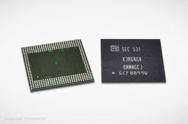 Samsung : bientôt des appareils dotés de 6 Go de mémoire vive LPDDR4 - http://www.frandroid.com/marques/samsung/309164_samsung-bientot-appareils-dotes-de-6-go-de-memoire-vive-lpddr4  #Mémoire, #Samsung