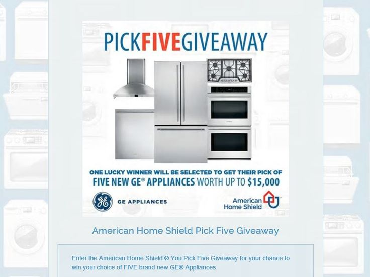 Ge appliance giveaway