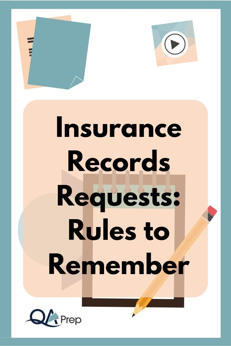 Insurance Records Requests Rules To Remember Therapy Clients