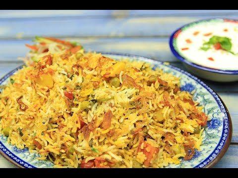 Vegetable Biryani Recipe - Download Veg Biryani Recipes | Sooperchef.pk